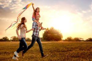 bonheur famille